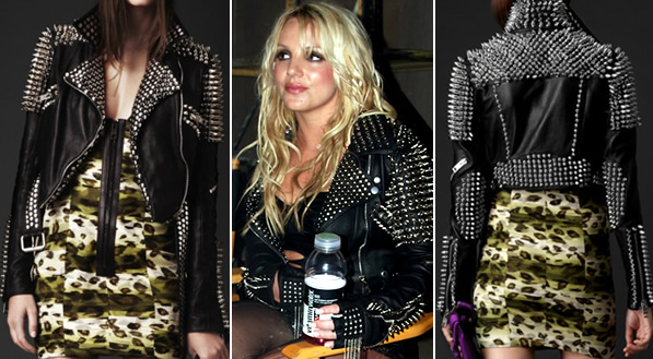 jaqueta jacket britney till the world ends