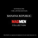 Mad Men para a Banana Republic