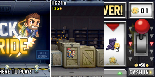 jetpack joyride iphone TOP 5   Jogos viciantes para iPhone!