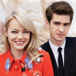 Andrew Garfield & Emma Stone em editorial fofo da Teen Vogue