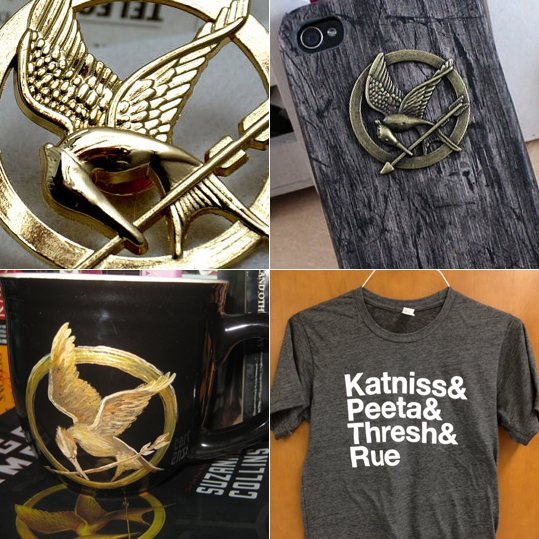 hunger games goodies from etsy