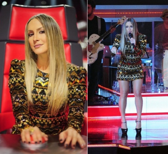 Foto1 ClaudiaLeite lecamarriot TOP 5   Looks da Claudia Leitte no The Voice Brasil