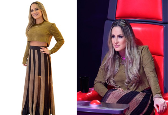 foto3 claudialeitte lecamarriot TOP 5 – Looks da Claudia Leitte no The Voice Brasil